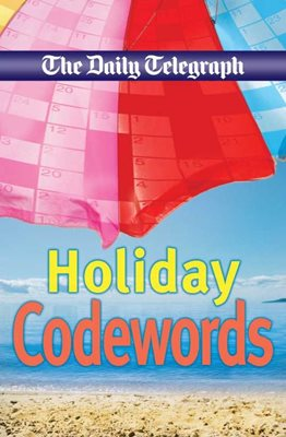 Book cover for Daily Telegraph Holiday Codewords